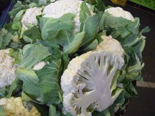 Vic Market Cauliflower